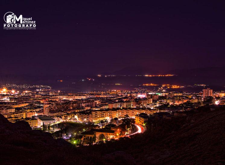 Fotografia larga exposicion Jaén